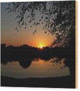 Sunrise Over Paradise  Wood Print
