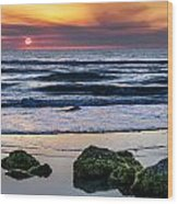 Sunrise Serenity Wood Print
