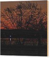 Sunrise Vi Wood Print