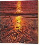 Sunset 4 Wood Print