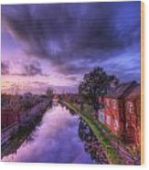 Sunset At Loughborough Wood Print