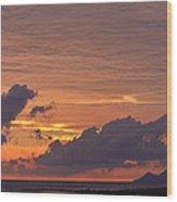 sunset III Wood Print