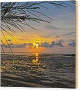 Sunset In Jeram Wood Print