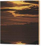 Sunset Ipanema  Wood Print