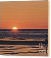 Sunset Park Petoskey Mi Wood Print