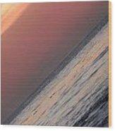 Sunset Slope Wood Print