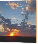 Sunset Supreem Wood Print