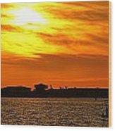 Sunset Viii Wood Print