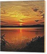 Sunset Xxi Wood Print