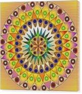 Sunshine Sunflower Wood Print