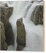 Sunwapta Falls 2 Wood Print