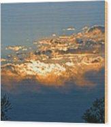 Supreem Sunset I Wood Print