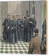 Supreme Court, 1881 Wood Print by Granger