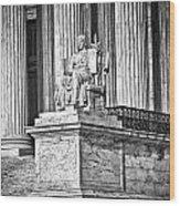 Supreme Court Building 1 Wood Print