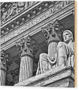 Supreme Court Building 20 Wood Print