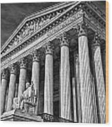 Supreme Court Building 5 Wood Print