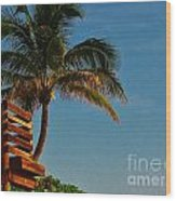Surf Lookout Wood Print