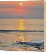 Surf Rise 3 Wood Print