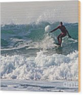 Surfers Paridise Wood Print by Brian Roscorla