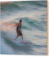 surfin' USA Wood Print