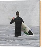 Surfing 397 Wood Print by Joyce StJames