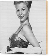 Surprise Package, Mitzi Gaynor, 1960 Wood Print by Everett