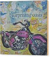 Surprising Oasis Wood Print