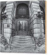 Surrogate's Courthouse II Wood Print
