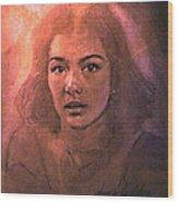Susan 1980 B Wood Print