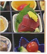 Sushi Art Wood Print