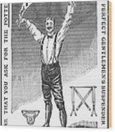 Suspenders, 1888 Wood Print by Granger
