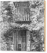 Swedenborgs Cottage Wood Print