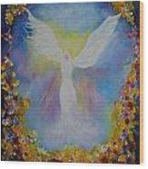 Sweet Angel Wood Print