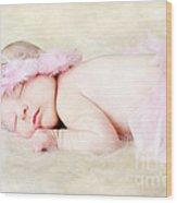 Sweet Baby Girl Wood Print