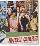 Sweet Charity, Paula Kelly, Shirley Wood Print by Everett
