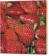 Sweet Florida Strawberries Wood Print