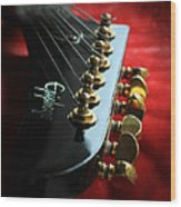 Sweet Guitar Wood Print