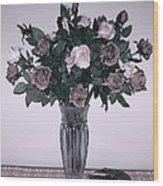 Sweet Valentine Bouquet  Wood Print
