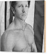 Swimmer 1 Wood Print