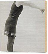 Swimmer, C1900 Wood Print