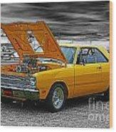 Swinger Muscle Car Wood Print