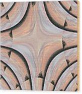 Swirled Sky Wood Print