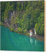 Switzerland - Lake Wood Print