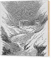 Switzerland: Convent, 1843 Wood Print