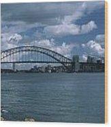 Sydney Harbor Australia Wood Print