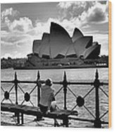 Sydney Love Affair Wood Print