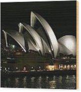 Sydney Opera House  Wood Print