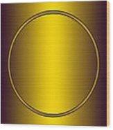 Symbol Of Peace Number 2   Wood Print