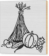 Symbol: Thanksgiving Wood Print
