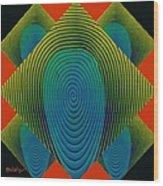 Symmetrica 189 Wood Print